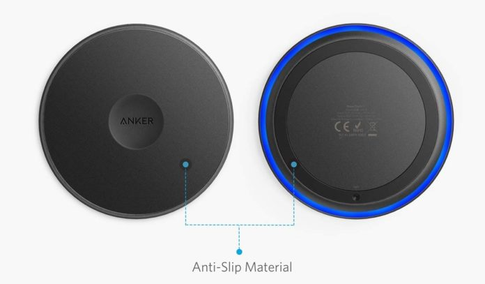 Anker Qi Wireless Charger with USB-C-min
