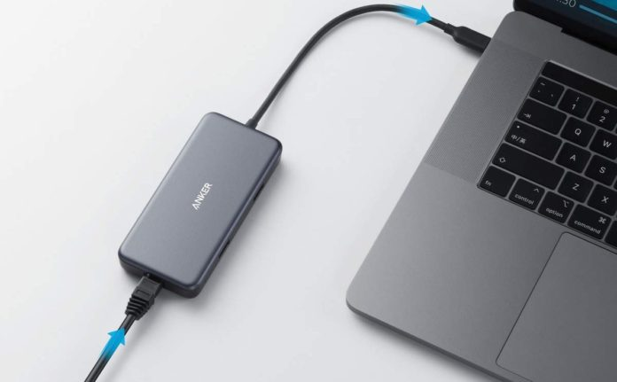 Anker USB C Hub Adapter, PowerExpand+ 7-in-1 USB C Adapter