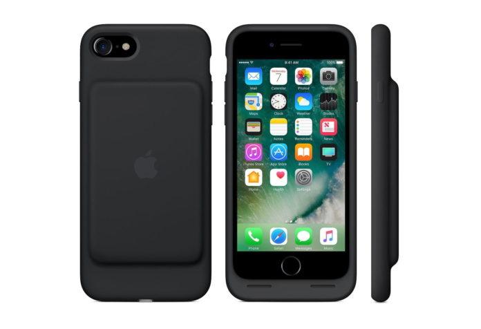 Apple Smart Battery Case (for iPhone 7) - Black -min