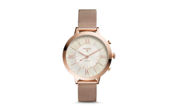 Fossil Women's Jacqueline Stainless Steel Hybrid Smartwatch-min