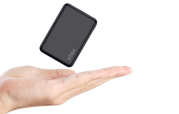 HTGK Mini Power Banks 5000mAh Portable Charger Ultra Slim Power Bank