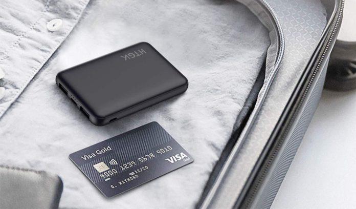 HTGK Mini Power Banks 5000mAh Portable Charger Ultra Slim Power Bank-min