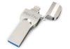 HooToo iPhone Flash Drive 128GB MFi Certified USB 3.0, iOS Photo Stick for iPhone iPad