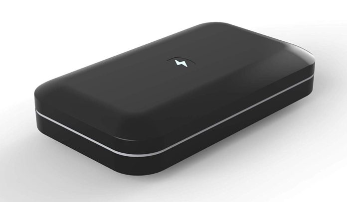 _PhoneSoap 3 UV Cell Phone Sanitizer and Dual Universal Cell Phone Charger-min