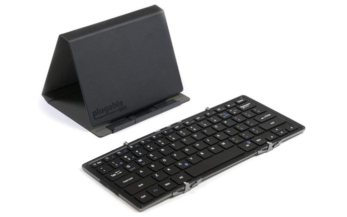 Plugable Foldable Keyboard Compatible for iPhones-min