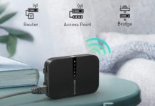 RAVPower FileHub, Travel Router AC750-min