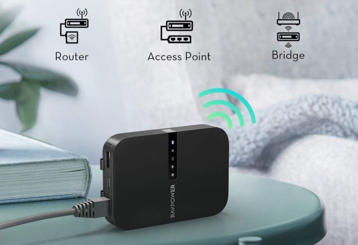 RAVPower FileHub, Travel Router AC750-min