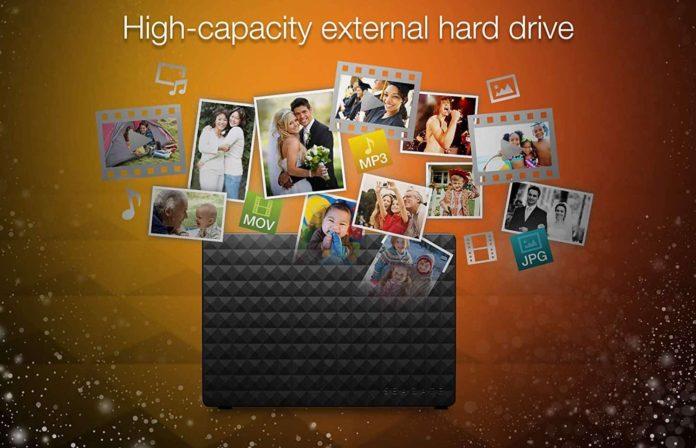 Seagate Expansion Desktop 4TB External Hard Drive HDD-min