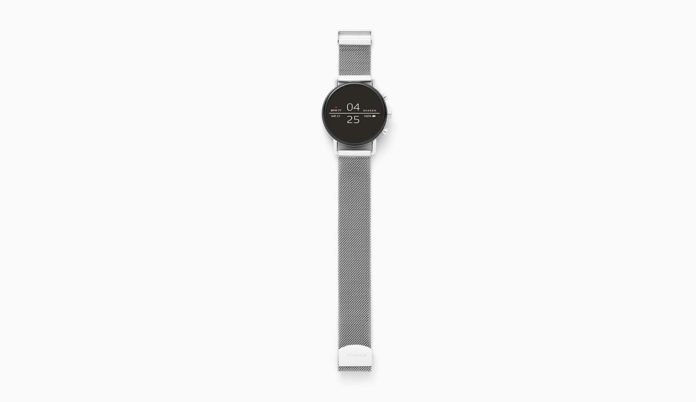 Skagen Connected Falster 2 Stainless Steel Touchscreen Smartwatch with Heart Rate