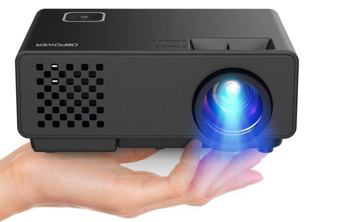 _Video Projector -DBPOWER RD810 Portable Mini Projector-min