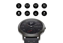 Withings : Nokia | Steel HR Sport Smartwatch