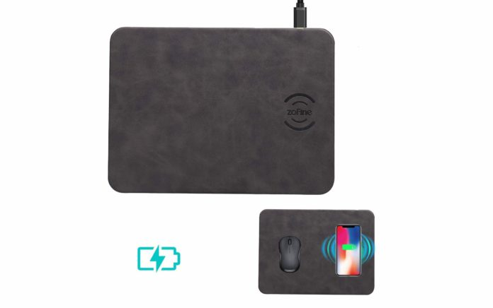 ZOFINE Wireless Charging Mouse Pad -min (1)
