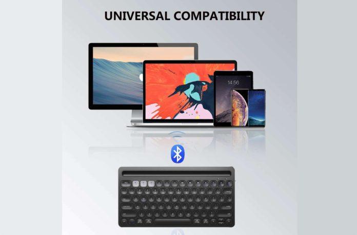 _iClever Bluetooth Keyboard-min