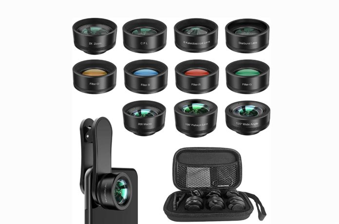 11 in 1 Cell Phone Lens Kit for iPhone -min