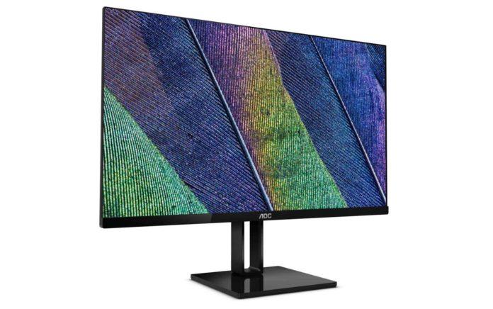 AOC 22V2H 22 Full HD 1920x1080 Ultra-Slim Monitor-min (1)