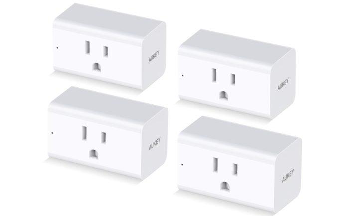 AUKEY Wi-Fi Smart Plug 4-Pack