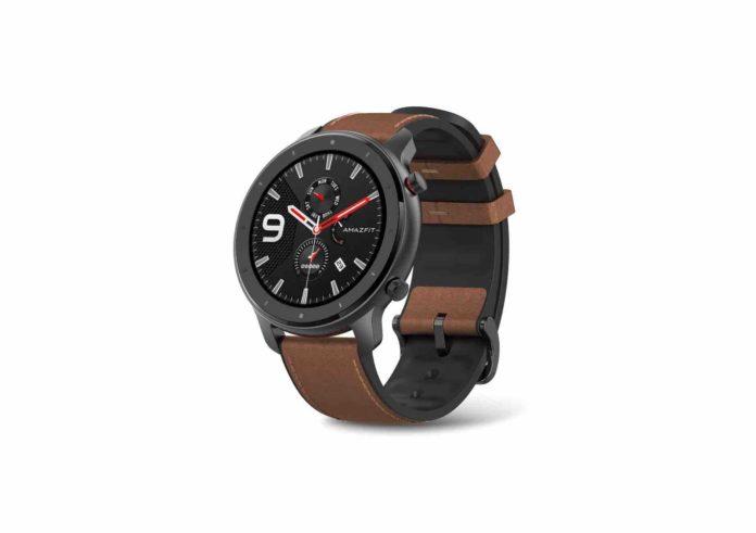 Amazfit GTR Aluminium Alloy Smartwatch with GPS+GLONASS