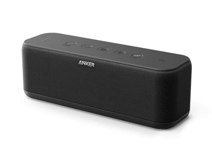 Anker SoundCore Boost 20W Bluetooth Speaker with BassUp Technology-min