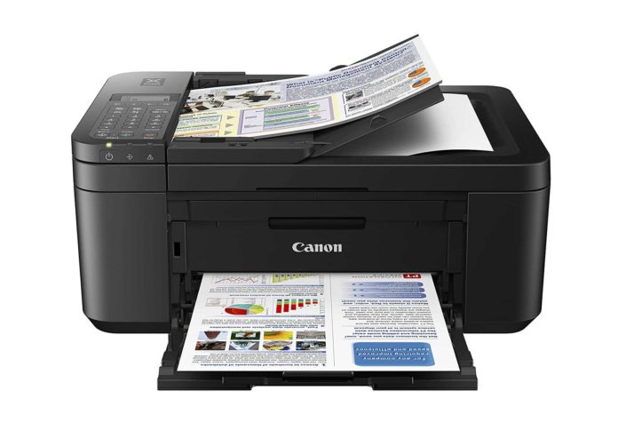 Canon PIXMA TR4520 Wireless All in One Photo Printer with Mobile Printing-min