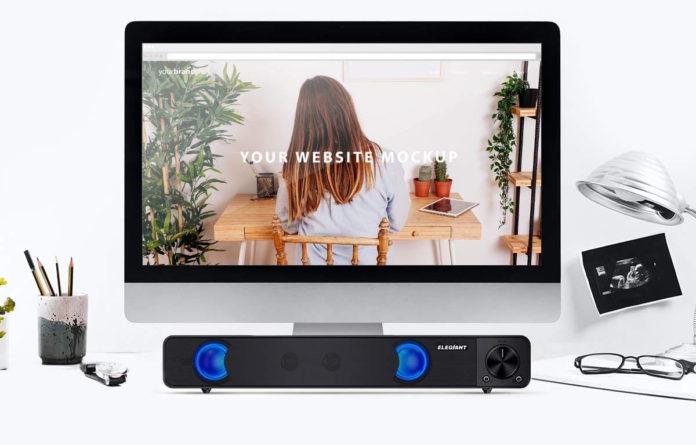 ELEGIANT Wired Computer Sound Bar-min (1)