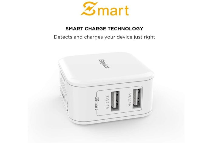 _EasyAcc Wall Charger 2-Port USB Charger-min