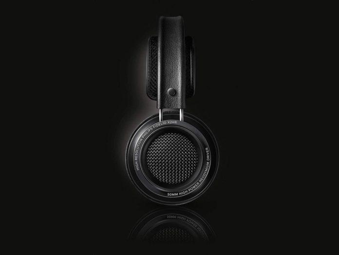 Philips X2HR Fidelio Over Ear Headphone, Black -min