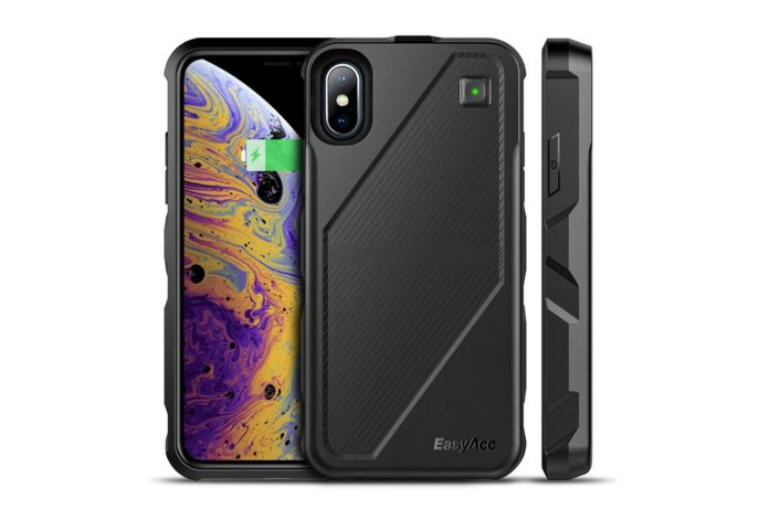 Phone Xs:X Battery Charger Case Qi Wireless Charging Case