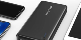 Power Bank RAVPower 26800 Portable Charger-min