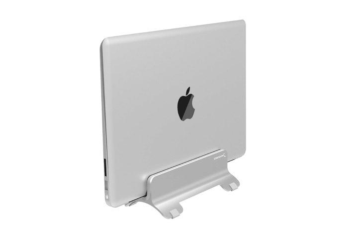 Sabrent Aluminum Vertical Laptop Stand MacBook Holder (AC-HLDS) -min