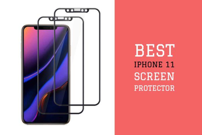 Screen protector iPhone 11
