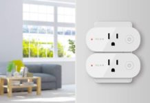 Smart Plug Wifi Outlet 15A Compatible With Alexa-min