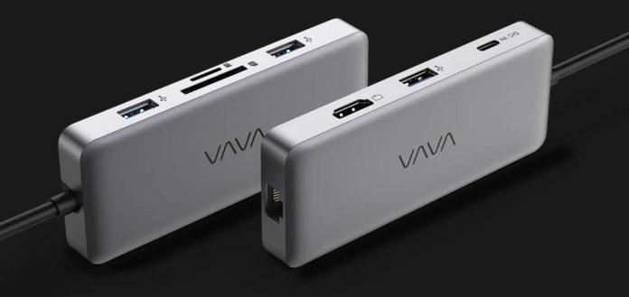 VAVA USB C Hub, 8-in-1 USB C Adapter