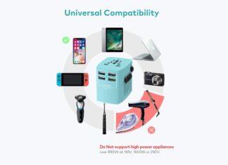 Xcentz Universal Travel Power Adapter-min