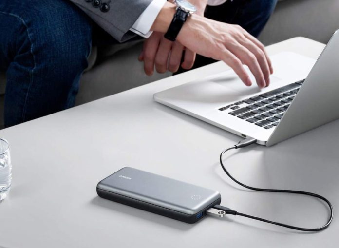 _Anker PowerCore+ 19000 PD Hybrid Portable Charger and USB-C Hub with Included USB-C Wall Charger-min