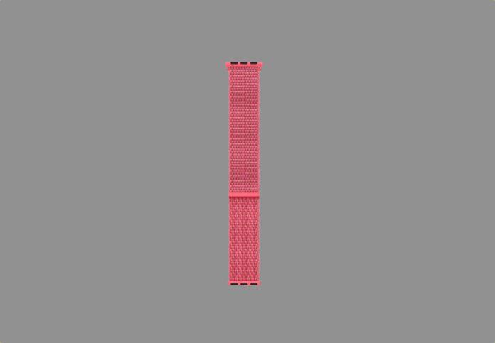 Apple Watch Sport Loop Band (44mm) - Hibiscus -min