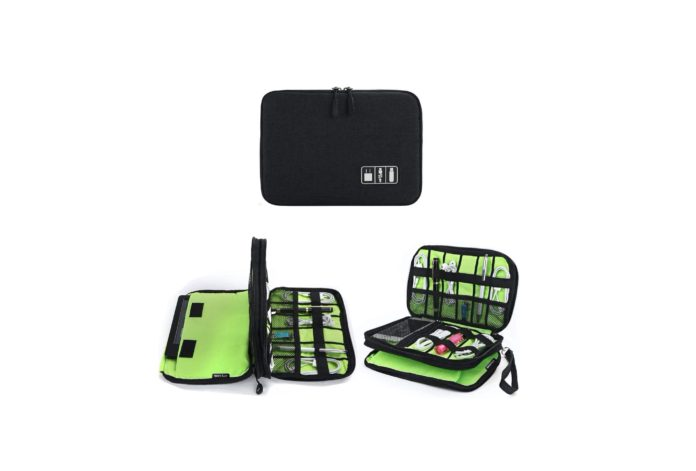 Jelly Comb Electronic Accessories Cable Organizer Bag -min