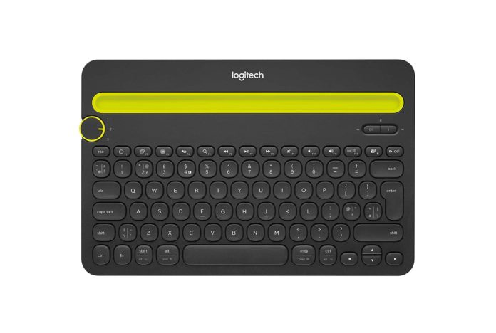 Logitech Bluetooth Multi-Device Keyboard K480-min (1)
