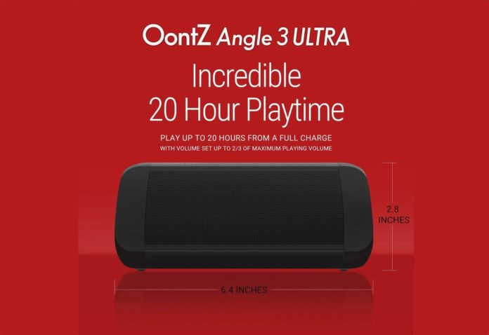 OontZ Angle 3 Ultra - Portable Bluetooth Speaker-min