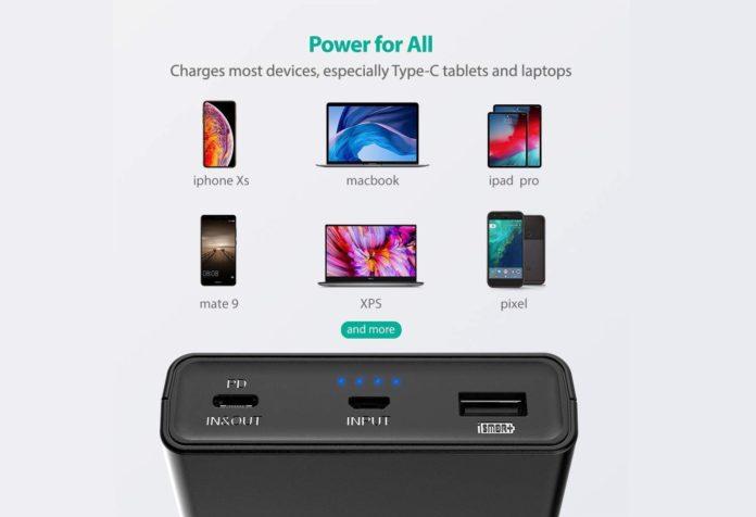 _RAVPower 20100mAh USB C Portable Charger-min (1)