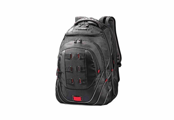 Samsonite Luggage Tectonic 17 Pft Backpack Black:red