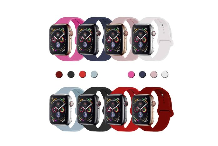 VATI Sport Band Compatible for Apple Watch Band 38mm 40mm 42mm 44mm-min