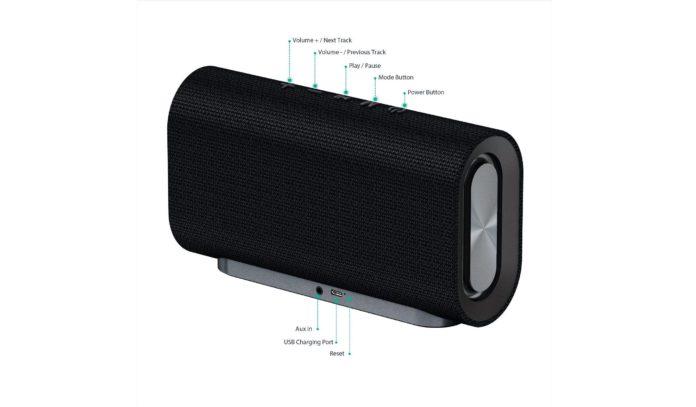 aukey eclipse wireless speaker-min