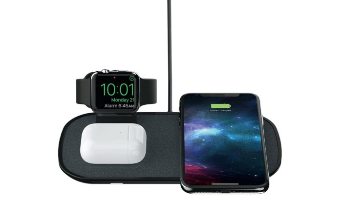 mophie 3 in 1 Wireless Charge Pad -min
