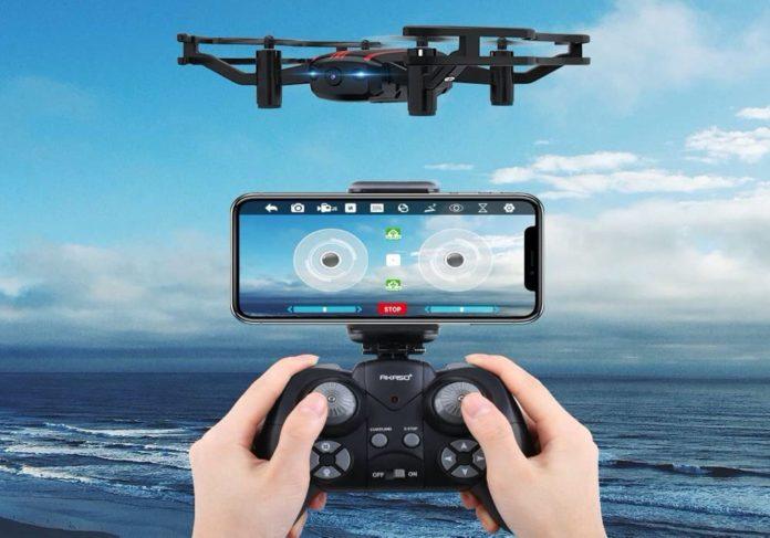 AKASO A21 Mini Quadcopter Drone Camera Live Video-min (1)