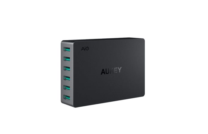 AUKEY USB Wall Charger 6 Port 60W-min
