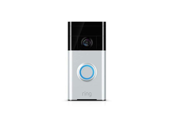 Certified Refurbished Ring Wi-Fi Enabled Video Doorbell-min