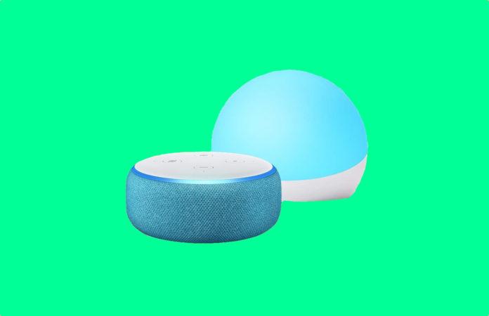 Echo Dot Kids Edition - Blue - With Echo Glow -min (1)