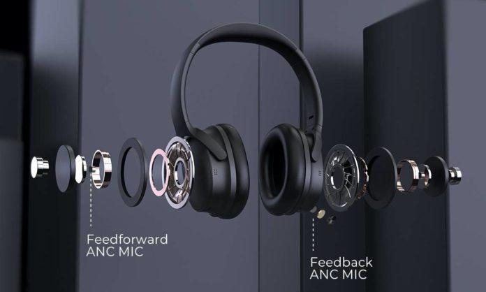 Mpow H10 Active Noise Cancelling Headphones Upgrade Bluetooth Headphones-min
