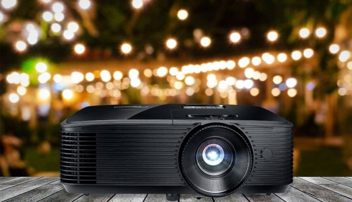 Optoma HD143X Affordable High Performance 1080p Home Theater Projector-min