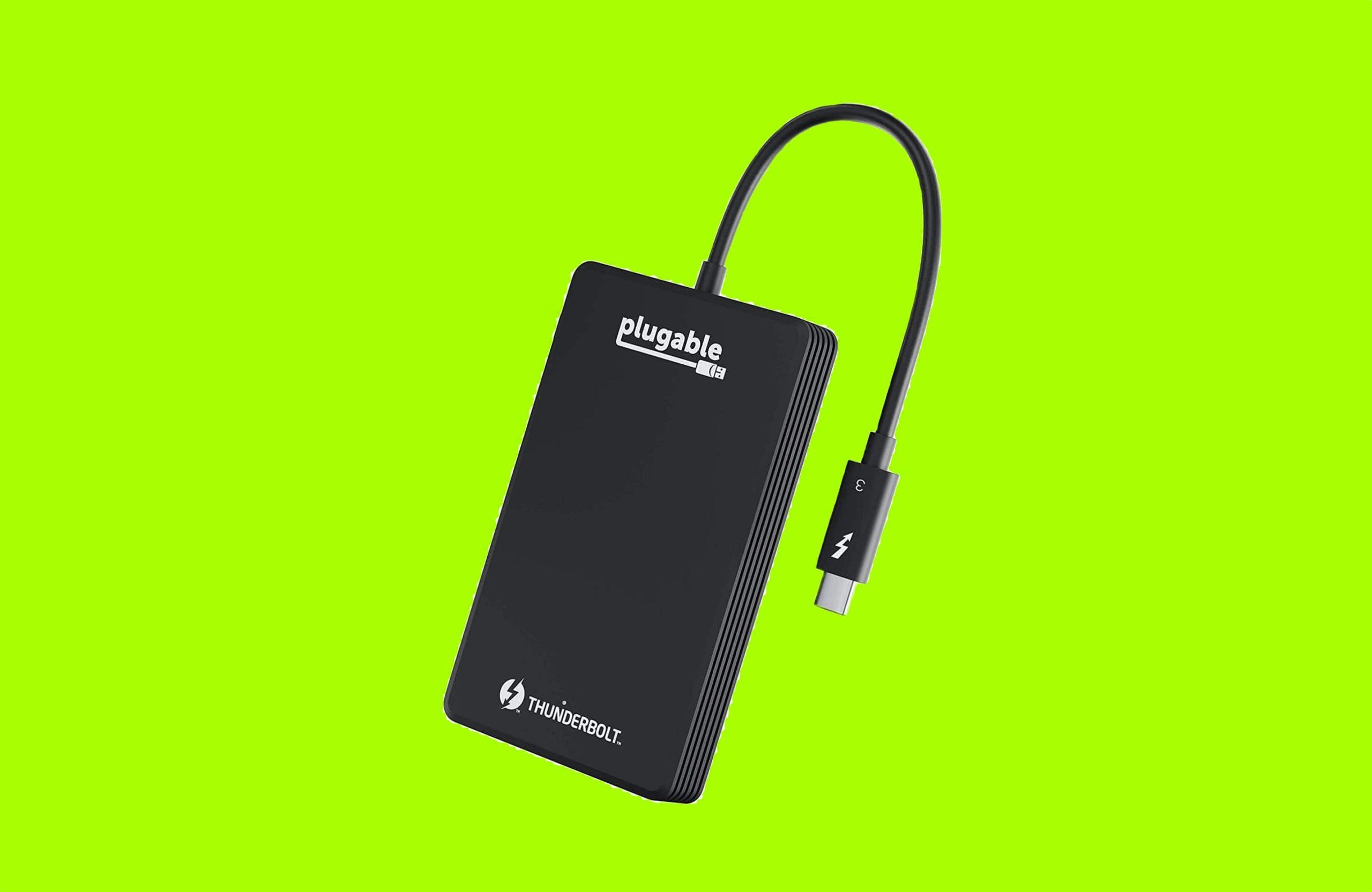 Plugable 1TB Thunderbolt 3 External SSD-min